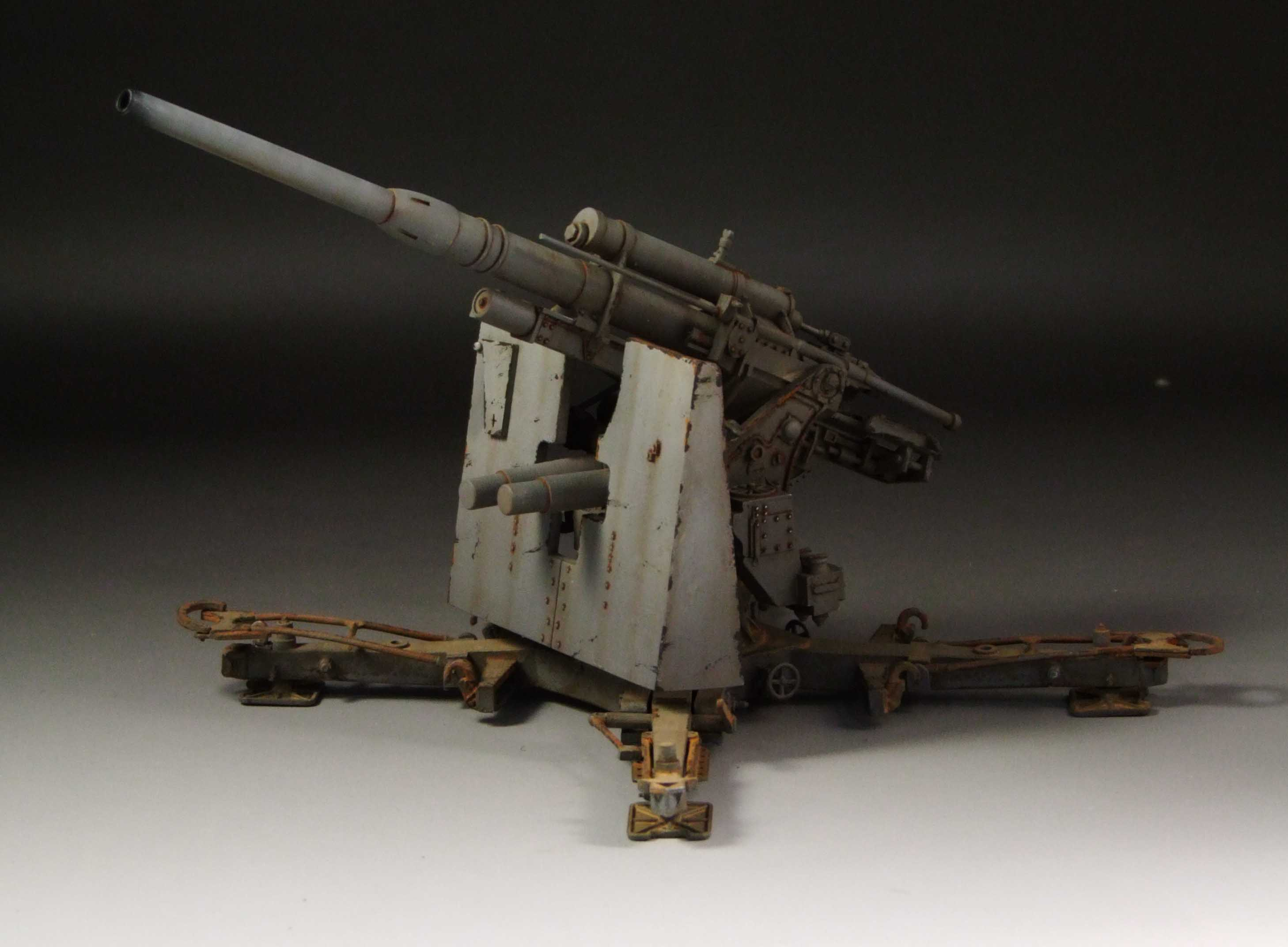 ww2 German 88 gun Flak 36/37.