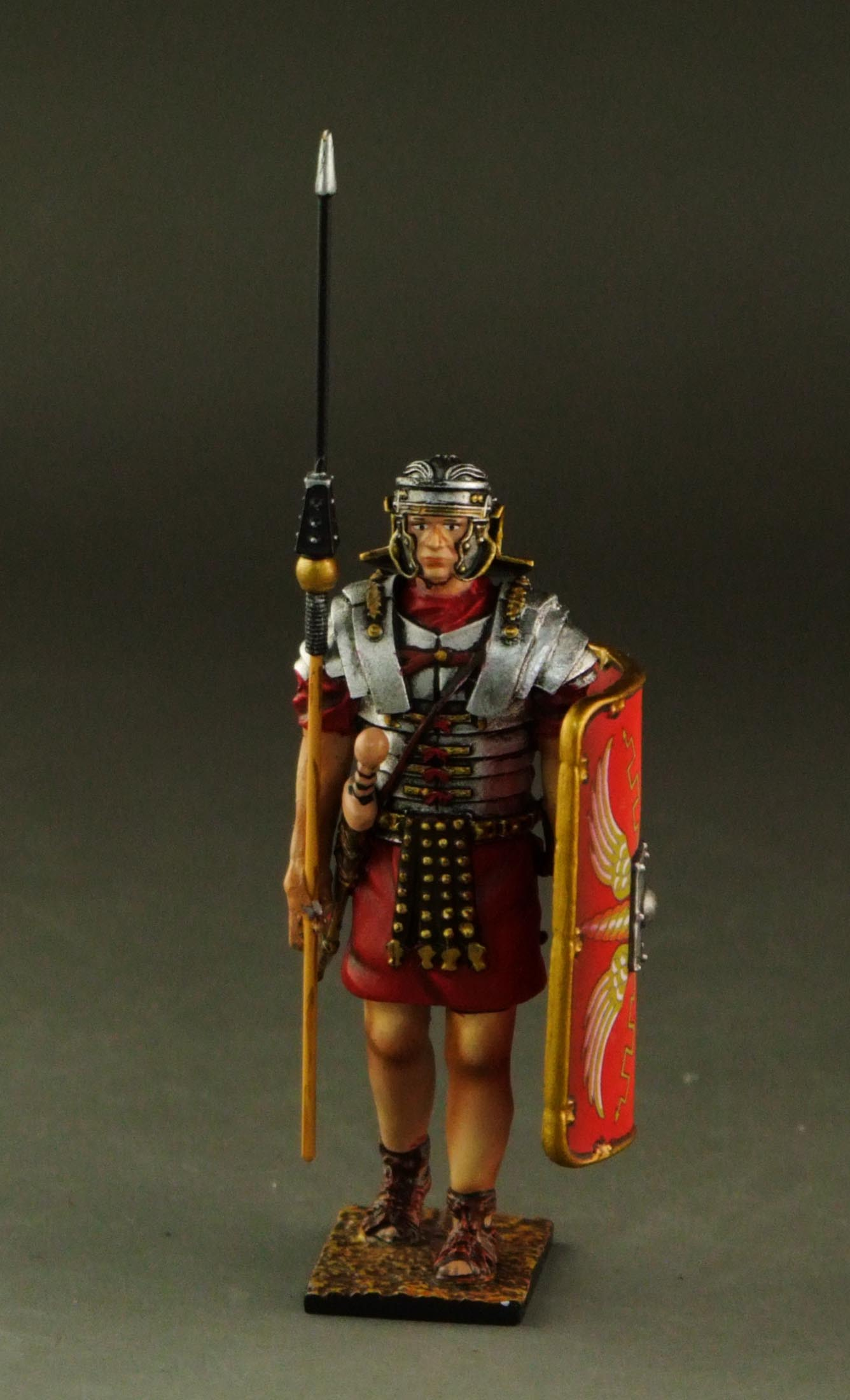 Roman soldier marching #01