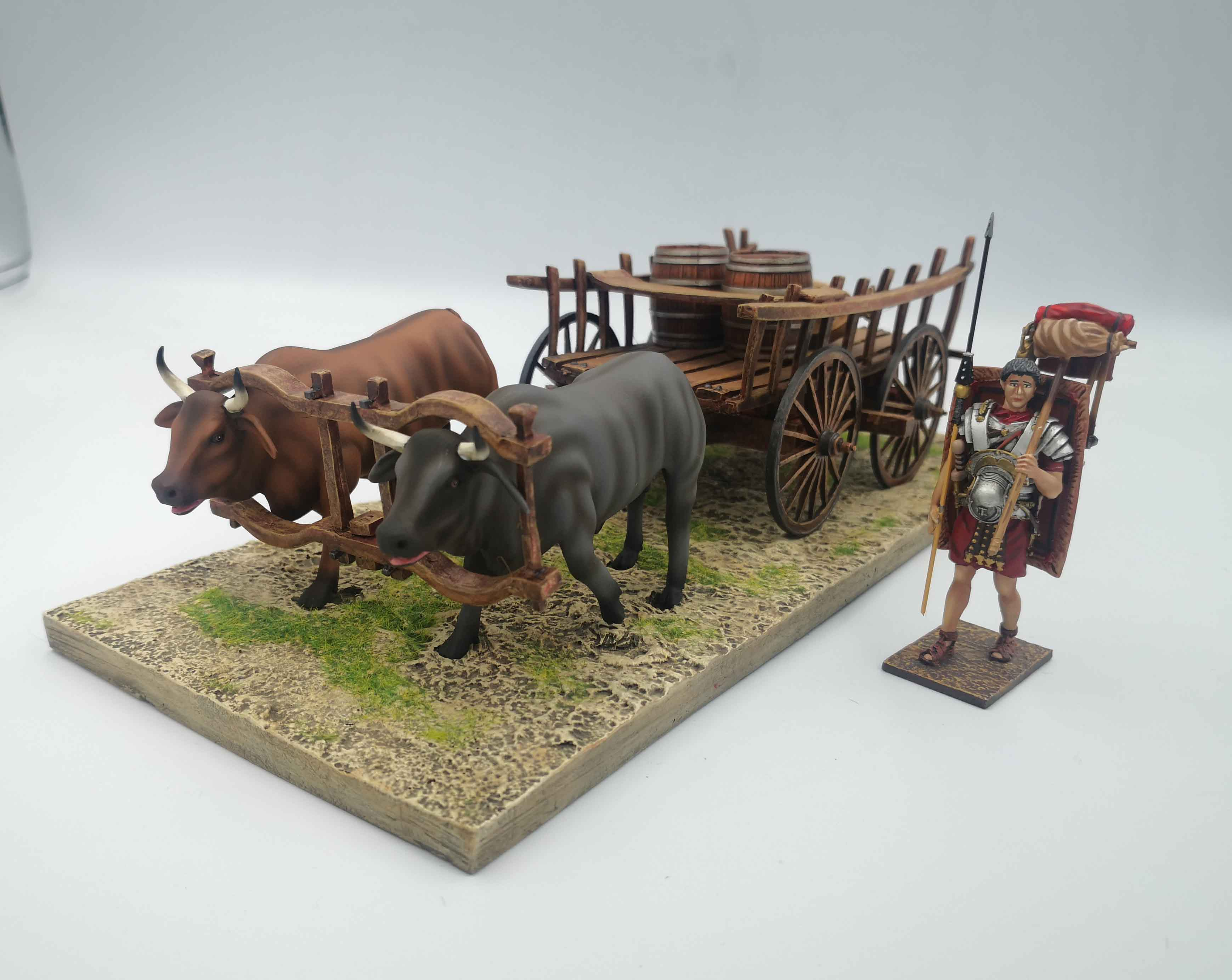 Roman Transport Ox cart